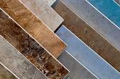 Ceramic Tile Samples — Stock Photo