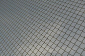 Chain Link Fence Background — Stock Photo