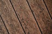 Diagonální tmavé dřevěné prkenné pozadí — Stock fotografie