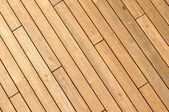 Diyagonal ahşap gemi güverte arka plan — Stok fotoğraf