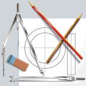 Drawing — Stock Vector