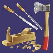 Joiner's tools — Wektor stockowy