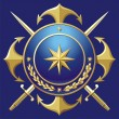 Royalty-Free Stock Vector Image: NAVY style badge