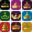 Crowns — Stock Vector #10153636