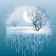 Winter landscape — Stock Vector #10153704