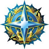 NAVY emblem — Stock Vector