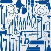 Tool kit — Stock Vector