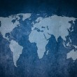 Abstract background. Map of the world. — Stock Photo #10255353