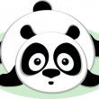 Cute Panda. — Stock Vector