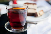 Tea on the table — Stock Photo