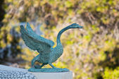 Bronze bird — Stock Photo
