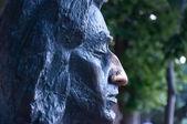 Chopin sculpture — Stock Photo