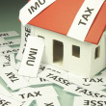 Home taxes — Stock Photo