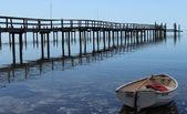 Wharf or Pier — Stock Photo