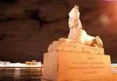 Sphinx in city — Stock Photo