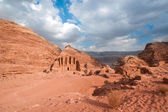 Monastery in Petra, Jordan — Stock Photo