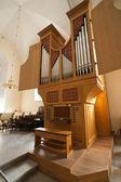 教会のオルガン — ストック写真
