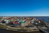Townscape of Vyborg. Russia — Stock Photo