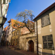 Historical streets of old Riga - Stock Photo