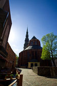 Beautiful streets old of Riga — Stock Photo