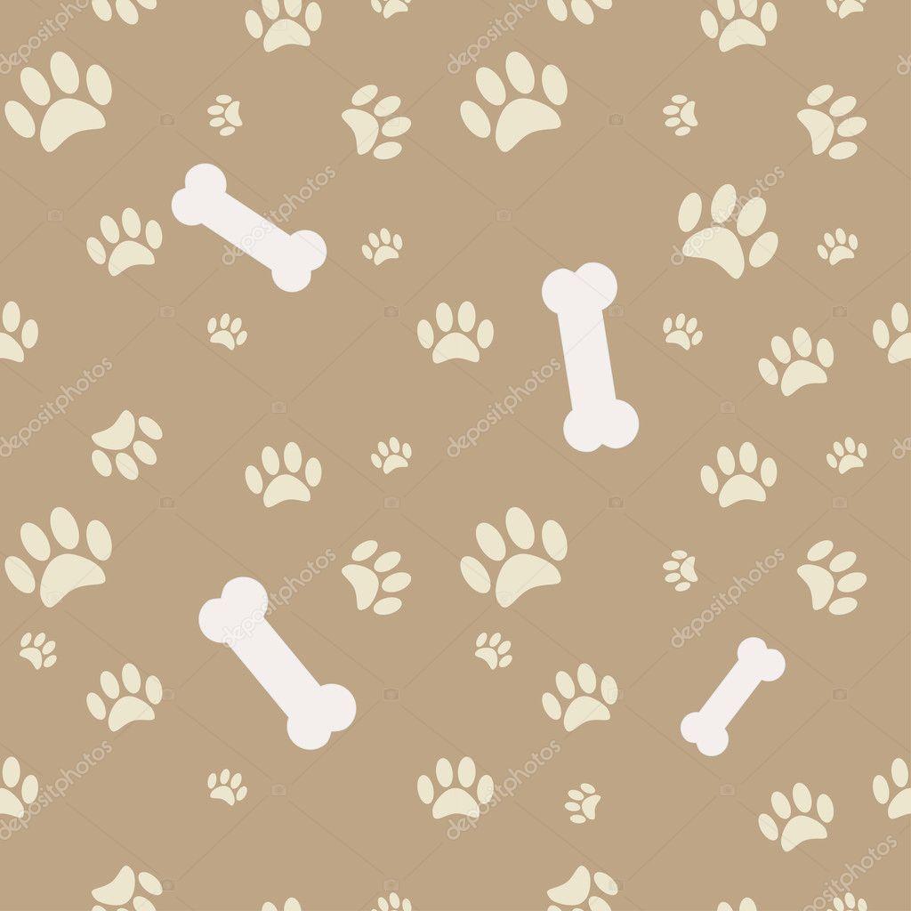 Brown dog bone background - photo#10