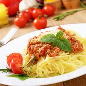 Pasta spaghetti — Stock Photo