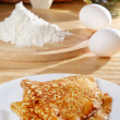 French style crepes - Stock Photo
