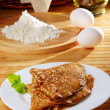 Stock Photo: French style crepes