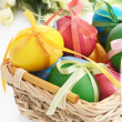 Easter basket — Foto de Stock