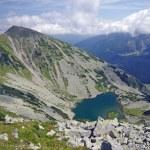 Retezat mountain scene — Stock Photo