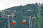 Cable car equipment — Stock Photo