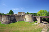 Fortress in Moldavia — Stock Photo