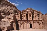 """El Deir (""""The Monastery"""") — Stock Photo"""