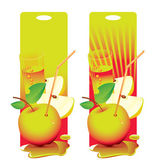čerstvé jablko — Stock vektor