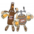 Royalty-Free Stock Vector Image: Alcoholics