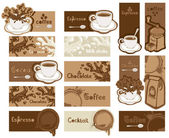 Coffee banners — Stock Vector