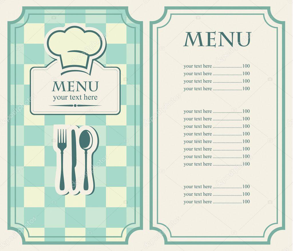 Как сделать меню из бумаги своими руками 19