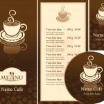 Cafe menu — Stock Vector #10725558