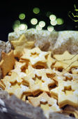 Crispy cookies stars — Stock Photo