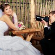 Pictures of the bride groom — Stock Photo