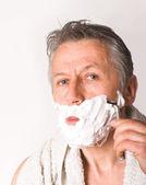 Sabah tıraş — Stok fotoğraf