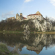 Early spring in Tyniec - horizontal image — Stock Photo #10159289