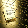 Gold bars — Stock Photo #10130664