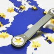 Stock Photo: Repair of europeunion