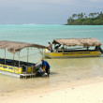 Rarotonga Lagoon — Stock Photo #10266048