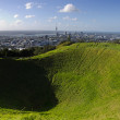 Stock Photo: Mount Eden Volcano