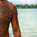 Rarotongan Tattoo — Stock Photo