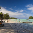 Rarotongan Beach — Stock Photo
