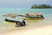 Rarotonga Lagoon — Stock Photo