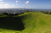 Mount Eden Volcano — Stock Photo